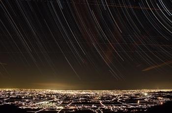 真壁町の夜景①