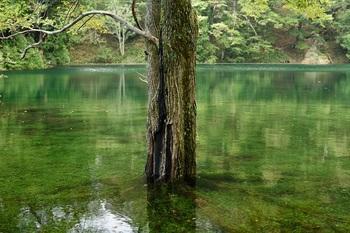 神秘の湖⑥