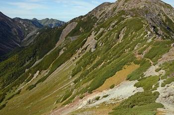 中岳のカール