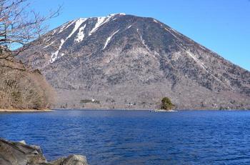 中禅寺湖上野島